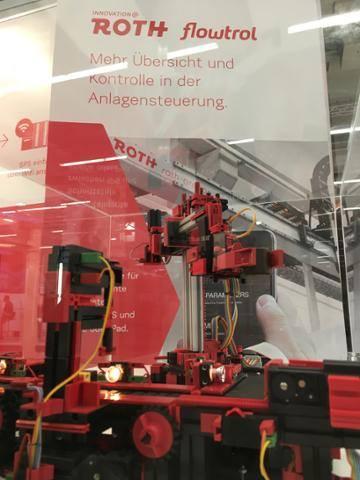 """Roth Steuerungstechnik - 2. Dezember 2015 - Messebesuch von Landrat Dr. Achim Brötel auf der """"SPS IPC Drives 2015"""" in Nürnberg"""
