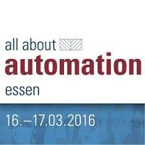 Roth Steuerungstechnik - 23. Januar 2016 - all about automation – ROTH erstmals von 16.-17.03.2016 in Essen dabei! Stand 319