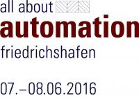 """Roth Steuerungstechnik - 5. Mai 2016 - ROTH ist wieder auf der """"all about automation"""" in Friedrichshafen, vom 07.-08.06.2016!"""