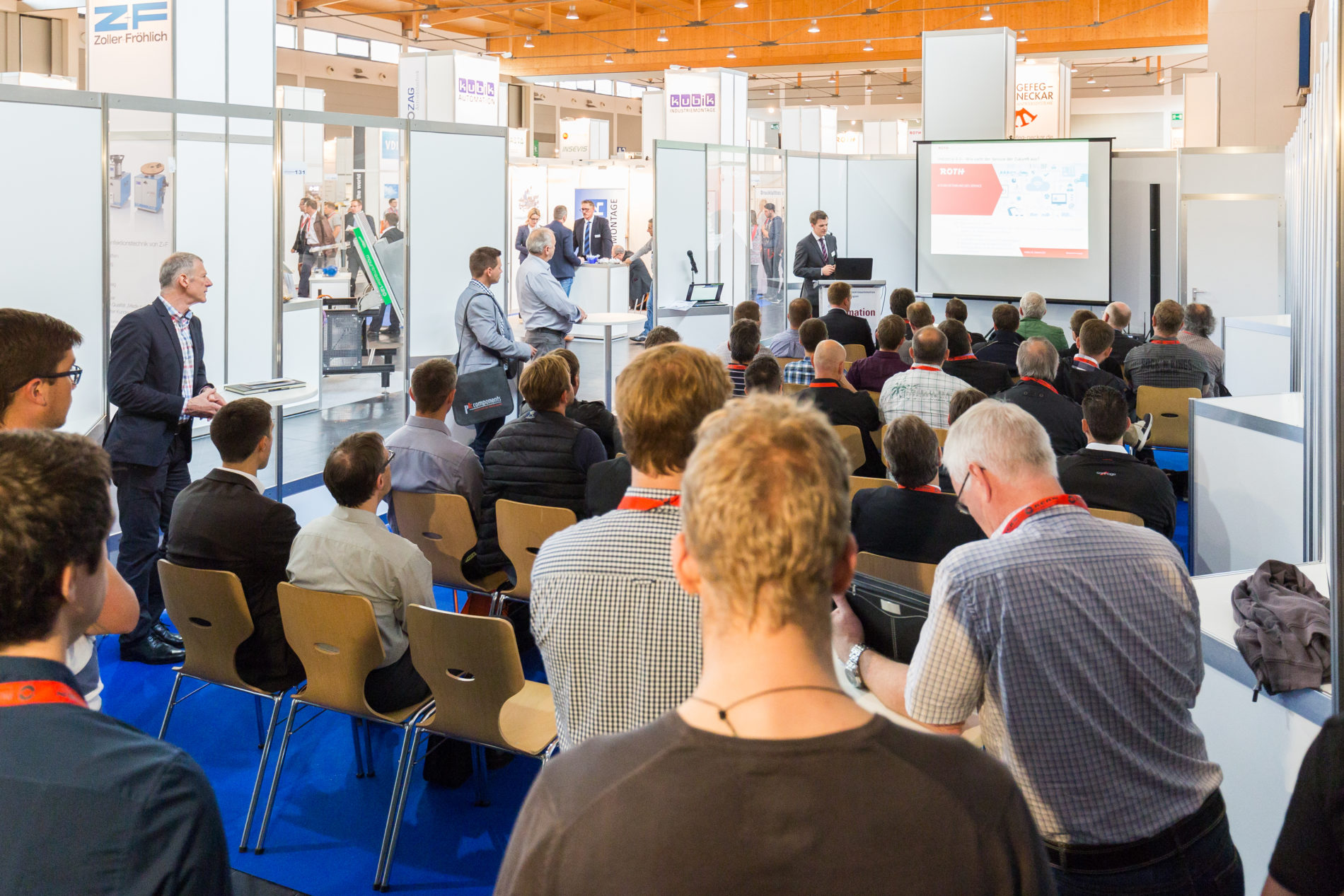 Roth Steuerungstechnik - 20. Juni 2016 - ROTH auf der all about automation in Friedrichshafen 2016
