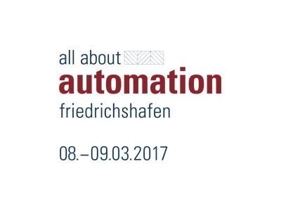 Roth Steuerungstechnik - 8. Februar 2017 - ROTH auf der all about automation Messe in Friedrichshafen
