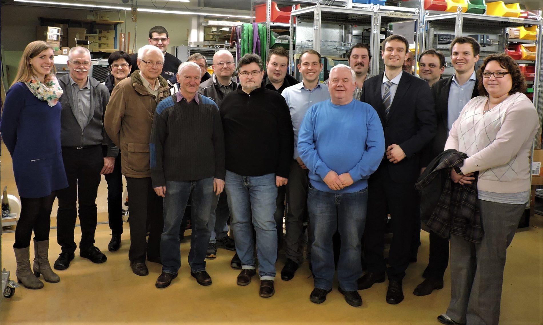 Roth Steuerungstechnik - 25. Januar 2018 - Billigheimer Gemeinderat besichtigte die ROTH Gruppe in Sulzbach